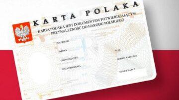 Польский для карты поляка